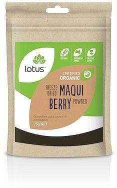 Lotus Maqui Berry Freeze Dried Organic  75g