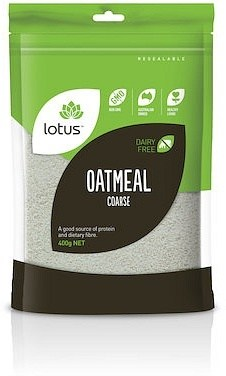 Lotus Oatmeal Coarse 400g