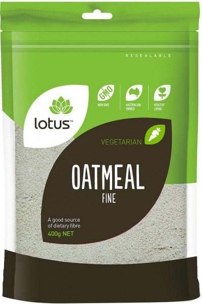 Lotus Oatmeal (Fine) 400g