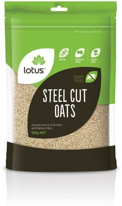 Lotus Oats Steel Cut 500gm