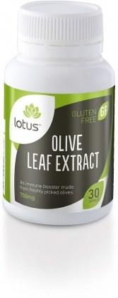 Lotus Olive Leaf Extract  30caps