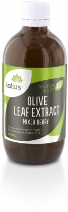 Lotus Olive Leaf Extract Mixed Berry 200ml