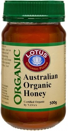 Lotus Organic Australian Honey  500gm
