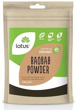 Lotus Organic Baobab Powder 100g