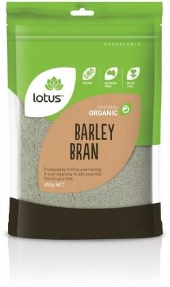 Lotus Organic Barley Bran 450g