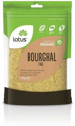 Lotus Organic Bourghal Fine  375gm