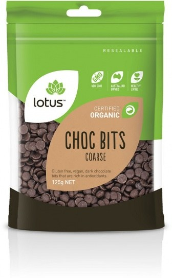 Lotus Organic Chocolate Bits 125g