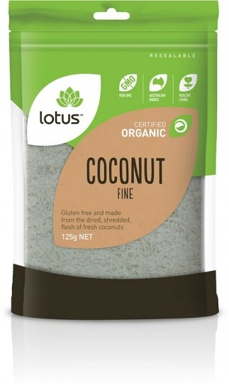 Lotus Organic Coconut Desiccated 125gm