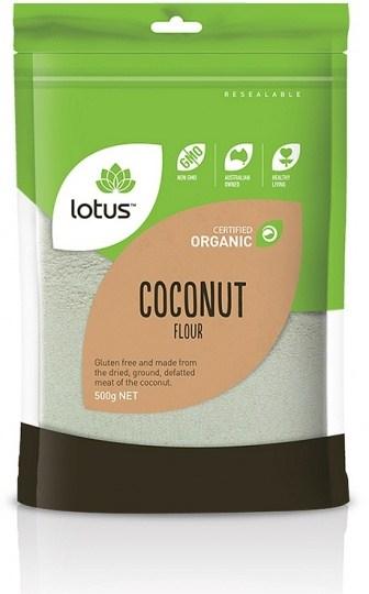Lotus Organic Coconut Flour  500g