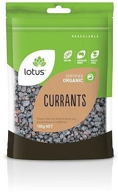 Lotus Organic Currants  100g