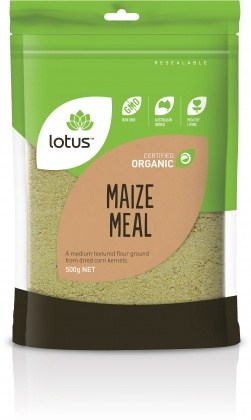 Lotus Organic Maize Meal 500gm