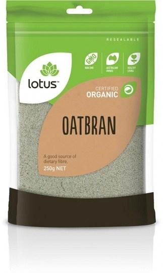 Lotus Organic Oatbran  250gm