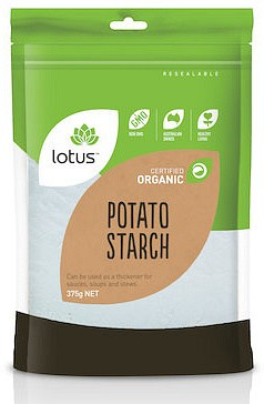 Lotus Organic Potato Flour (Starch)  375g