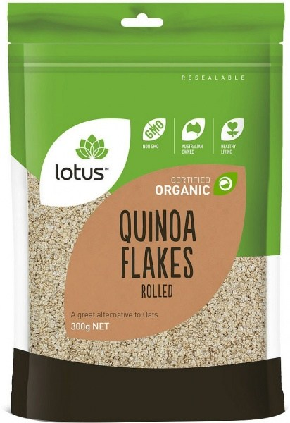 Lotus Organic Quinoa Flakes  300gm