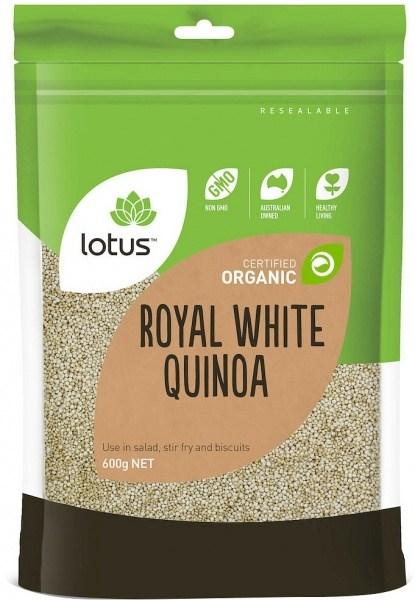 Lotus Organic Quinoa Grain 600gm