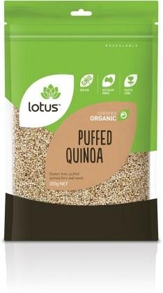 Lotus Organic Quinoa Puffs 200g