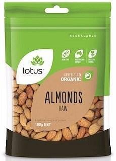Lotus Organic Raw Almonds