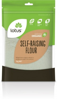 Lotus Organic Self Raising Flour 1kg