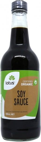 Lotus Organic Soy Sauce Organic 500ml