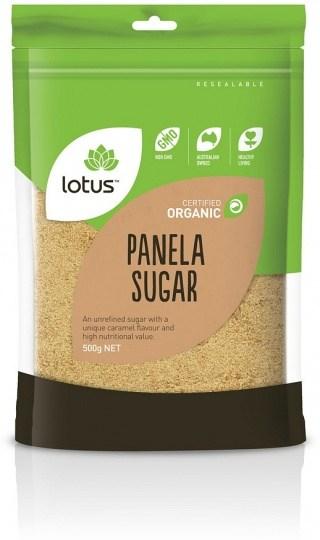 Lotus Organic Sugar Panela  500g