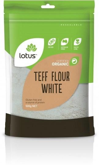 Lotus Organic Teff White Flour  500g