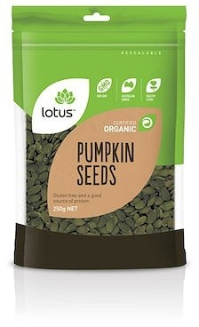Lotus Pumpkin Seeds Austrian Organic  250g