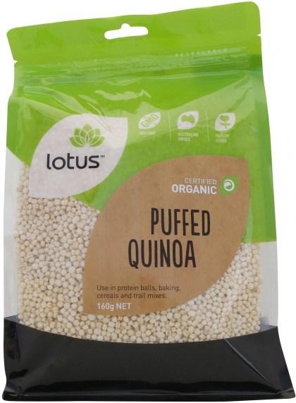 Lotus Quinoa Puffed Organic  160g