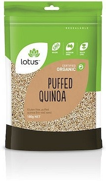 Lotus Quinoa Puffed Organic  180g
