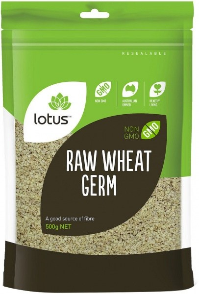 Lotus Raw Wheat Germ 500g