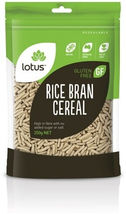 Lotus Rice Bran Cereal 250gm