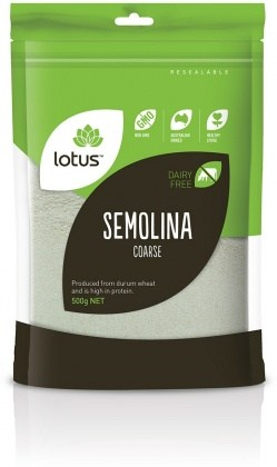Lotus Semolina (Coarse) 500gm