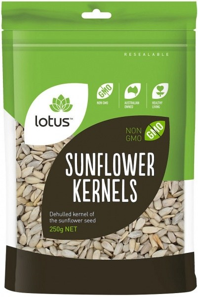 Lotus Sunflower Kernels  250gm