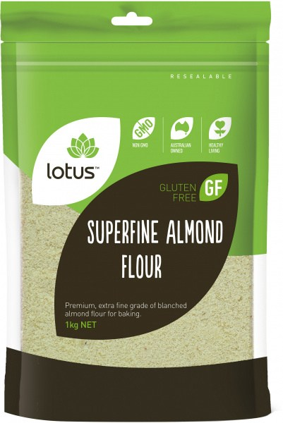 Lotus Superfine Almond Flour  1kg