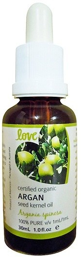 Love Oils Organic Argan Seed Kernel Oil 30ml