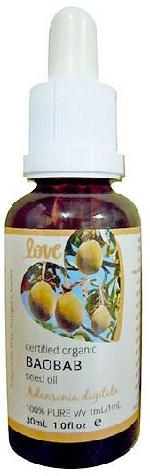 Love Oils Organic Baobab Seed Oil 30ml NOV22