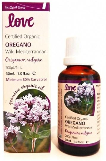 Love Oils Organic Oregano Oil 30ml