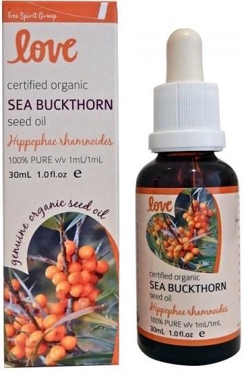 Love Oils Organic Sea Buckthorn Seed Oil 30ml