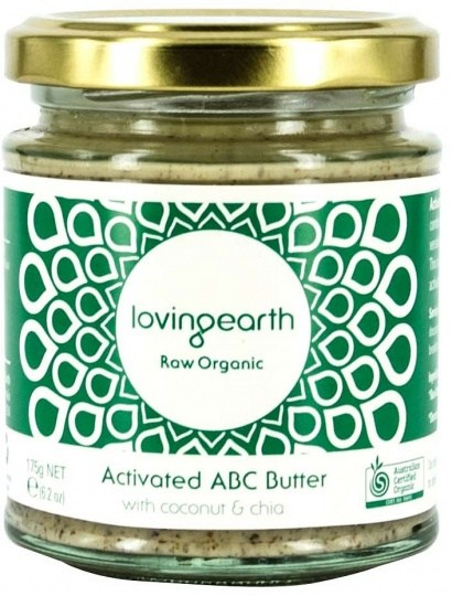 Loving Earth Activated ABC Coconut & Chia Butter 175g