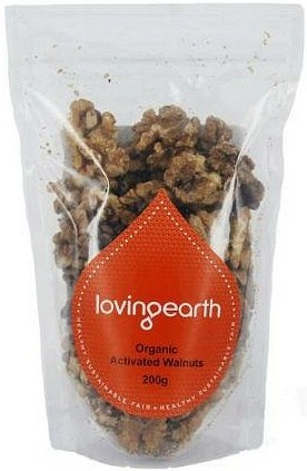 Loving Earth Activated Walnuts 400g