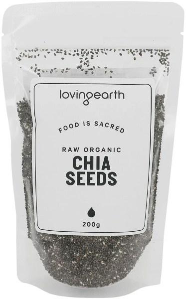 Loving Earth Chia Seeds 200g