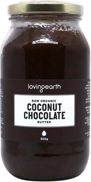 Loving Earth Coconut Chocolate Butter 550g