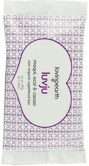 Loving Earth LuvJu Maqui, Acai, Cacao 45g