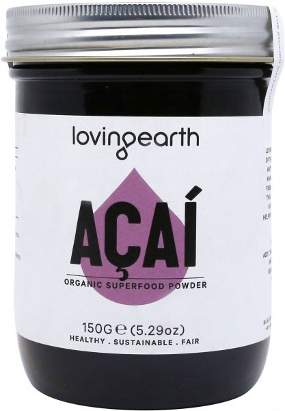 Loving Earth Organic Acai Powder 150g