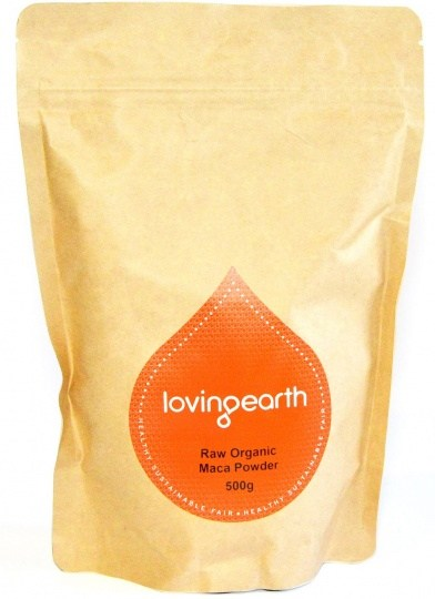 Loving Earth Organic Maca Powder  500g