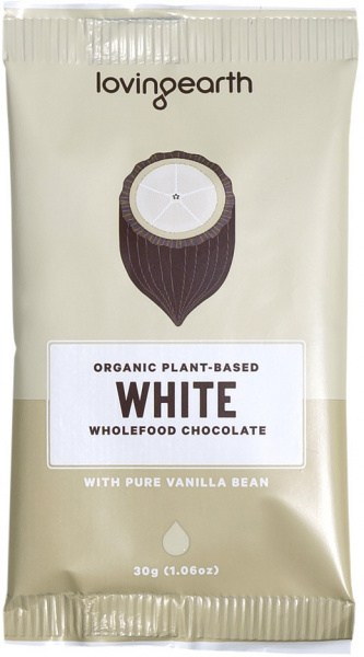 Loving Earth Organic White Chocolate 16x30g