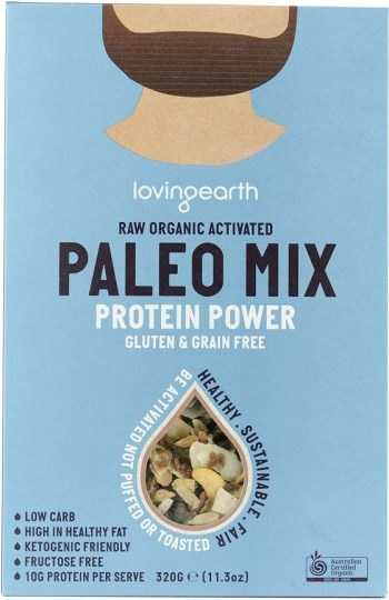Loving Earth Raw Organic Paleo Mix - Protein Power  320g