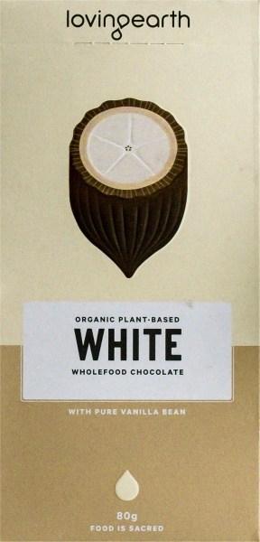 Loving Earth Raw Organic White Chocolate  80g