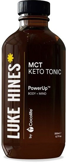 Luke Hines by Cocolife MCT Keto Tonic (PowerUp Body+Mind) 200ml