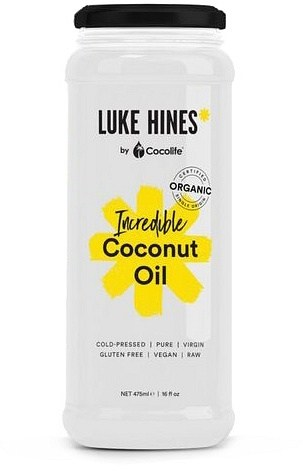 Luke Hines by Cocolife Organic Incredible Coconut Oil  425ml