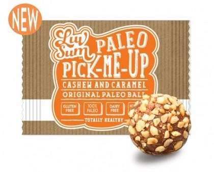 Luv Sum Pick-Me-Up Cashew & Caramel Paleo Balls  12x42g